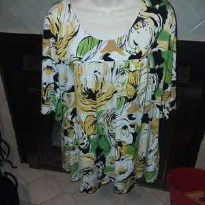 Dressbarn blouse sz 2x